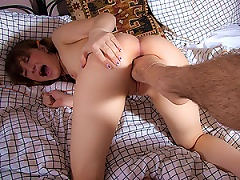 Free Porn Cute Teen Having A Foot Shoved Up Her Fanny