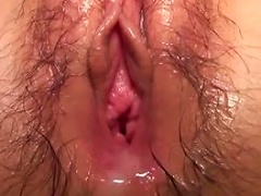 Free Porn Gets Her Hairy Pussy Toyed And Pounded