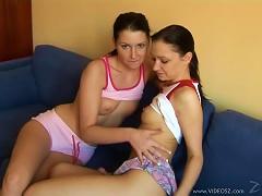 Free Porn Hot Brunette Lesbian Teens