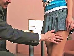 Free Porn Teacher Forcing Himself On Babe