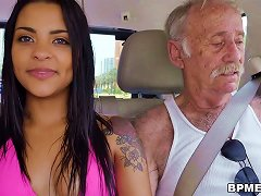 Free Porn Nikki Kay Enjoys Gangbang With Old Men