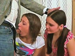 Free Porn Two Brunette Babes Get Aroused For Some Part1