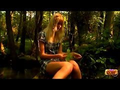 Free Porn Teen In The Woods Stripping