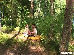 Free Porn Sensual Teen Hardcore In Woods