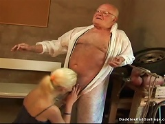 Free Porn Old Fart Fucks Amazing Blonde Teen Girl On The