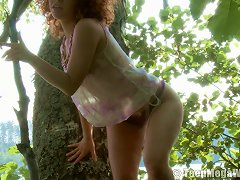 Free Porn Avina Always Liked Acting Really Naughty In The Deep Wilderness