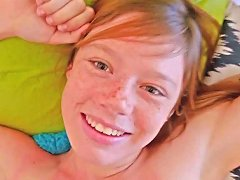 Free Porn Teen Ginger Porno Newbie