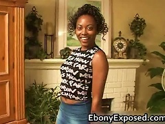 Free Porn Sexy Ebony Teen Gets A  Part1