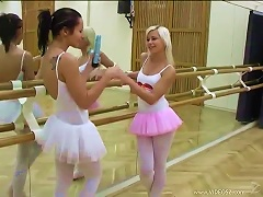 Free Porn Ballet Hotties Evelin And Sonia Red Play With One Another's  Pussies