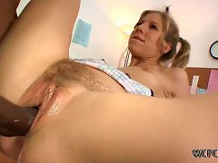 Free Porn Chastity Lynn Has Sex With The School Janitor After School