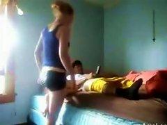 Free Porn Amateur Teen Rides A Big Black Cock
