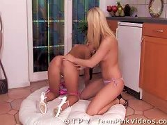 Free Porn Blonde Lesbian Teens With Pink Pussies Finish Off With Sex Toys