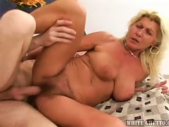 Free Porn Blonde Granny Loves Fucking Younger Randy Guys