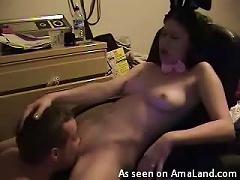 Free Porn Teen Brunette's Reaches An  As Her Boyfriend Eats Her Out