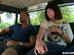 Free Porn Euro Teen Falls For A Black Cock In The Backseat Of A Van