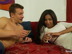 Free Porn Exotic Beauty Sadie Santana Craves A Creampie