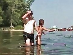 Free Porn Naked Fishing With Very Cute Russian Teen Elena