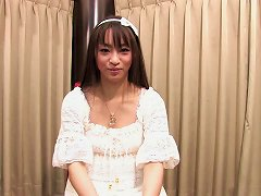Free Porn Funky Japanese Babe Chats To The Camera In An Interview