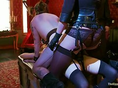 Free Porn Iona Grace And Sparky Sin Claire Don't Mind To Make Lesbian Love