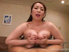 Free Porn Voluptuous Asian Babe In A Sexy Bra Giving A Steamy Blowjob Then A Superb Titjob In Pov