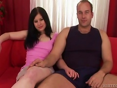 Free Porn Sexy Teen  With A   Gives A  To Her Neighbor