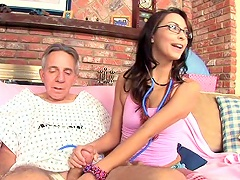 Free Porn Sexy Teen Danni Cole Gets Dick Of An Old Fart