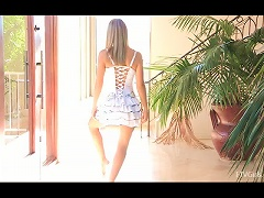 Free Porn Young Teen Amie Loves Ballet  And She's Rehearsing Nude