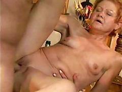 Free Porn Granny Cannot Resist Cock