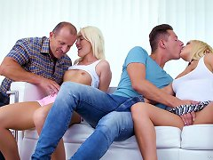 Free Porn Lovita Fate And Amber Deen Love The Taste Of Cum After A Foursome