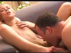 Free Porn Oral Sex With A Skinny Blonde Teen