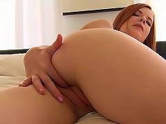 Free Porn Teen Redhead With Tight Sexy Gash