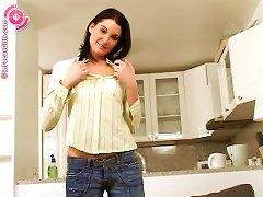 Free Porn Pleasure Balls Pleasure The Teenage Girl In White Cotton Socks
