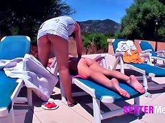 Free Porn Mallorca - Teenyfotzen Am Pool
