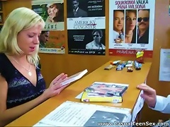 Free Porn Quick Sex In A Dvd Store