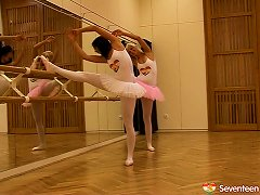 Free Porn Hot Ballet Dancers Do Some Stretches And Eat Some Pussy
