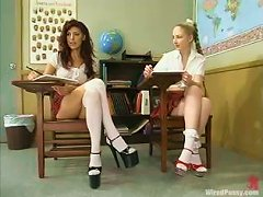 Free Porn Detention Gets A Femdom Twist For These Slutty Students!