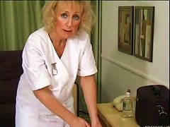 Free Porn Blonde Mature Nurse Getting Fucked By A Big Cock
